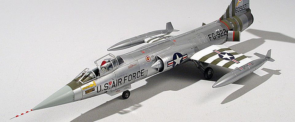Hasegawa 1/48 F-104C, by John Heck
