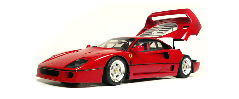 Tamiya 1/24 F40, by Rodney Williams