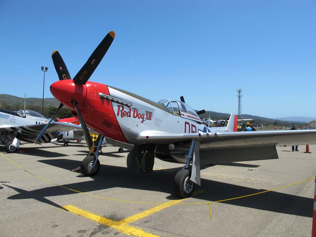 More aircraft from Pacific Coast Dream Machines 2012