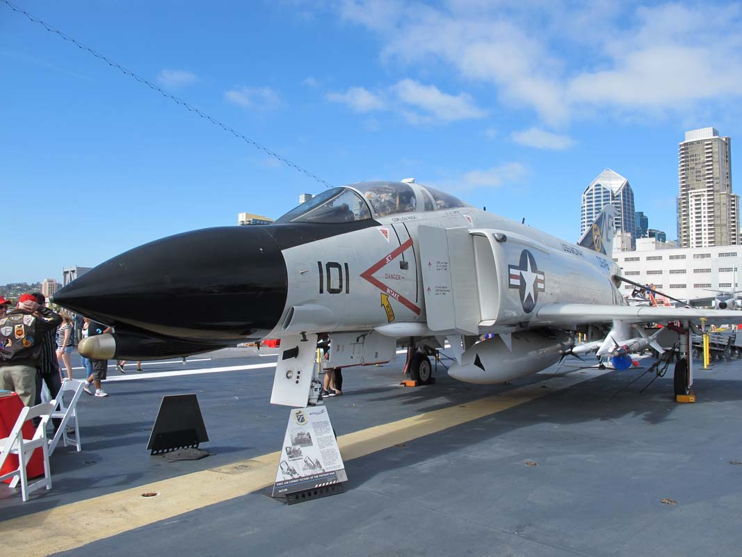 Aircraft from USS Midway