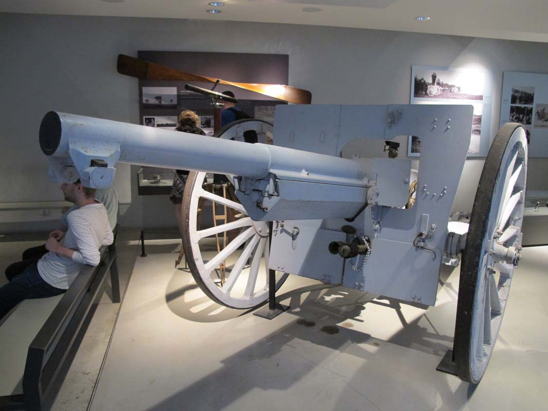 Artillery pieces from Musée de l'Armée in Paris