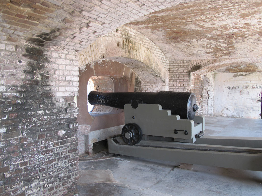 Fort Sumter and its guns