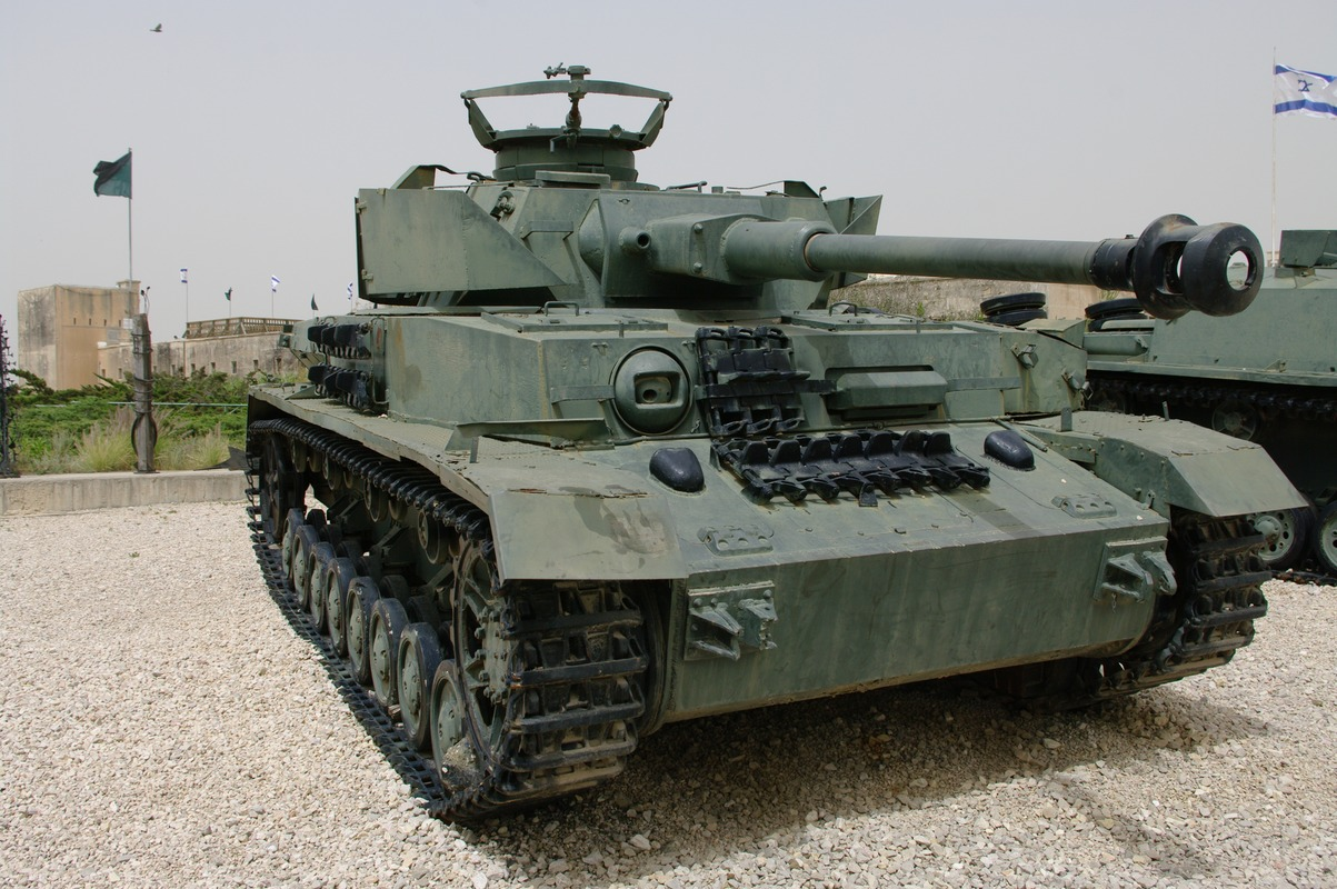 Military Vehicles from Israeli Museums